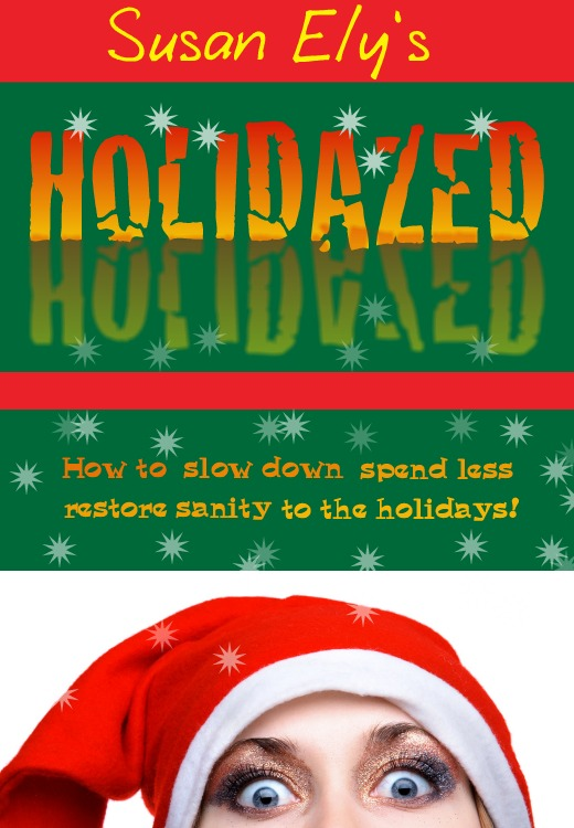 If Christmas makes you a little manic, you might be HOLIDAZED